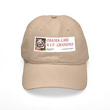 Obama Care - Health Danger Baseball Baseball Cap