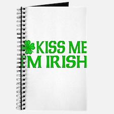 Kiss Me I'm Irish (Dark) Journal