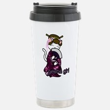 Dancing Geisha Kitty Travel Mug