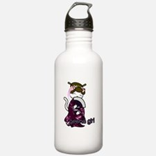 Dancing Geisha Kitty Water Bottle