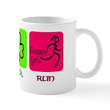 peace luck run Mug