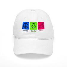 peace luck run Baseball Cap