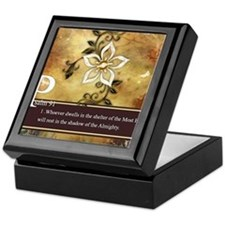 Psalm 91 Keepsake Box