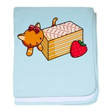 Mille Feuille Kitty baby blanket