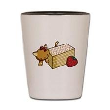 Mille Feuille Kitty Shot Glass