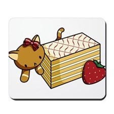 Mille Feuille Kitty Mousepad