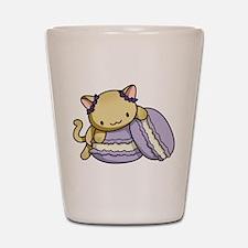 Macaron Kitty Shot Glass