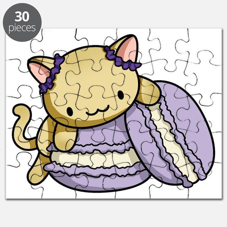 Macaron Kitty Puzzle