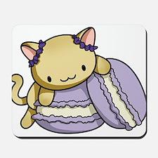 Macaron Kitty Mousepad