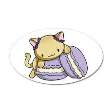 Macaron Kitty Wall Decal