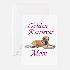 Golden Retriever Mom Greeting Cards (Pk of 10)