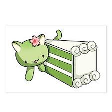 Gateau Matcha Kitty Postcards (Package Of 8) Postc