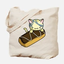 Eclair Kitty Tote Bag