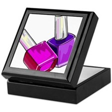 Nail Polish Keepsake Box