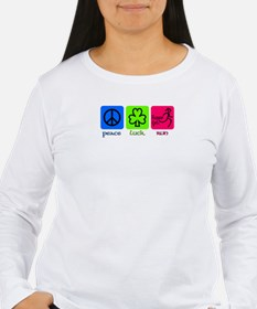 Peace Luck Run Long Sleeve T-Shirt