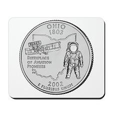 Ohio State Quarter Mousepad