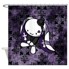 Princess of Clubs Shower Curtain