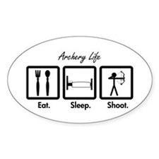 Eat. Sleep. Shoot. (Compound) Decal