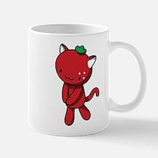 Strawberry Kitty Mugs