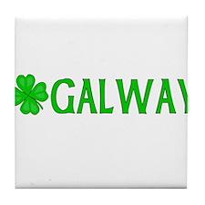 Galway, Ireland Tile Coaster