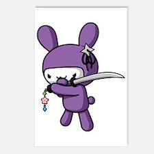 Ninja Bunny Postcards (Package Of 8) Postcards (Pa