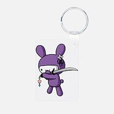 Ninja Bunny Keychains
