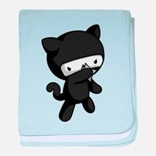 Ninja Kitty baby blanket