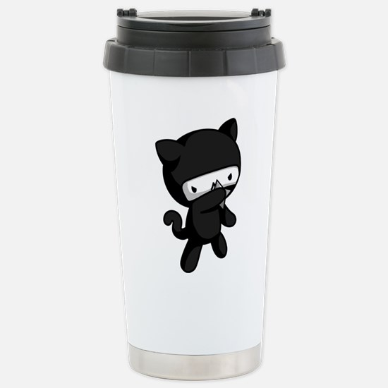 Ninja Kitty Travel Mug