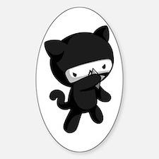 Ninja Kitty Decal