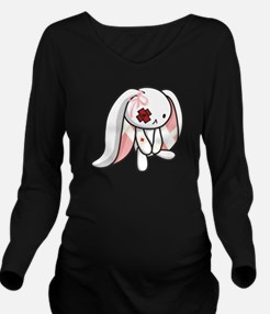 Broken Bunny Long Sleeve Maternity T-Shirt