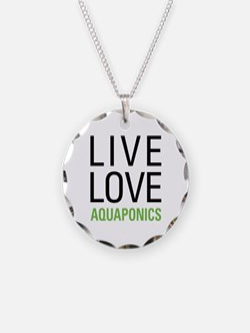 Live Love Aquaponics Necklace