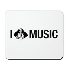 I Pirate Music Mousepad