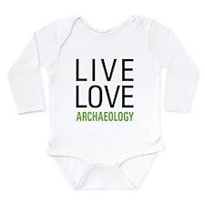 Live Love Archaeology Long Sleeve Infant Bodysuit