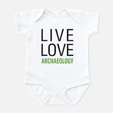 Live Love Archaeology Onesie