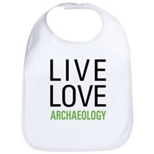 Live Love Archaeology Bib