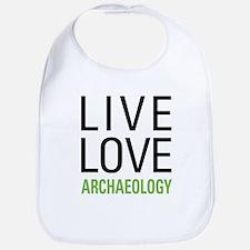 Live Love Archaeology Bib