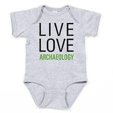 Live Love Archaeology Baby Bodysuit