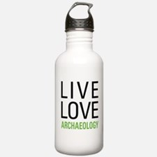 Live Love Archaeology Water Bottle