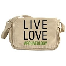 Live Love Archaeology Messenger Bag