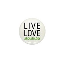 Live Love Archaeology Mini Button (10 pack)