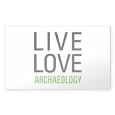 Live Love Archaeology Decal