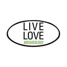Live Love Archaeology Patches