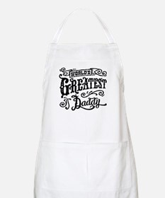 World's greatest Daddy Apron