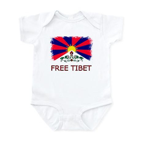 Vintage Free Tibet Infant Creeper