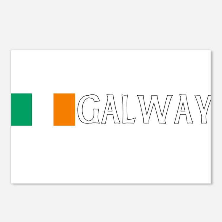 Galway, Ireland Postcards (Package of 8)
