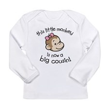 Big Cousin - Monkey Face Long Sleeve T-Shirt