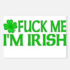 Fuck Me I'm Irish Postcards (Package of 8)