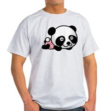 Panda Girl Sleeping T-Shirt