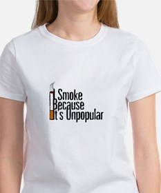 I Smoke Because It's Unpopular (Women's)