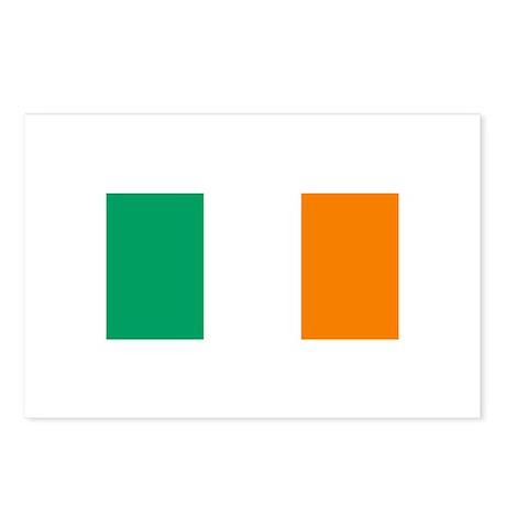 Ireland Flag (Dark) Postcards (Package of 8)
